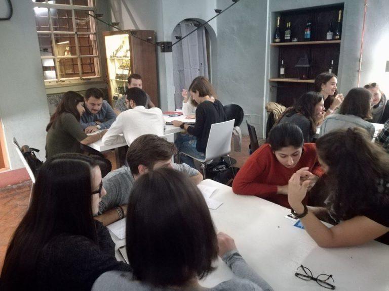 club de conversación italiano en Bolonia